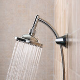 6 '' Round Polished Rainfall Bath Banheiro Sprinkler Top Shower Head Bathhouse