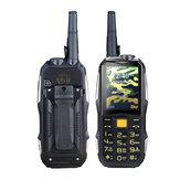 2.4inch 19800mah Rugged Phone Dual SIM GSM Walkie Talkie Standby for Smartphone FM Radio