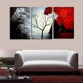 3 PCS Tree Modern Abstract Landscape Canvas Painting Print Picture Home Art No Frame