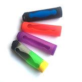 Honana 18650 Batterie Housses en silicone Housses de protection Colorful Soft Boîte de rangement en peau de caoutchouc