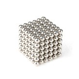 216Pcs par lot 3mm Ball magnétique Ball Buck Ballent Intelligent Relive Toys Silver
