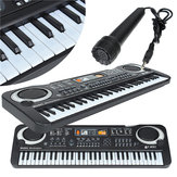 61 Keys Music Electronic Keyboard Key Board Kids Gift Electric Piano Organ