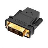 Ugreen 20124 HDMI Vrouw naar DVI 24 + 1 Mannelijke Adapter 1080P HDTV Converter DVI Connector voor PC PS3 Projector TV Box