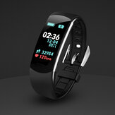 Bakeey C4pro Weather Music Control Heart Rate Blood Pressure Oxygen Monitor Smart Watch