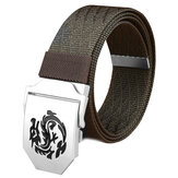 120CM Mens Nylon Alloy Buckle Military Tactical Belts Outdoor Jeans Strip