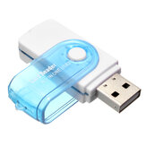 4-in-1 USB 2.0 M2 MS SD Micro SD TF Card Reader
