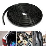 4M U Shape Edge Trim Rubber Seal Protector Guard Strip For Cars Metal Edges Boat