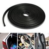 4m u forme bord bande de garde garniture d'étanchéité en caoutchouc de protection pour les bords des voitures métalliques bateau