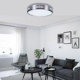Modern 12W Round LED Ceiling Down Light Flush Mount Lamp Fixture AC110-240V