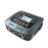 SkyRC Q200 QUATTRO AC/DC 2X100W 2X50W Lipo Batterie Balance Ladegerät Entladen