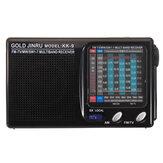 Tragbarer voller Band UKW-Radio-Stereo-Lautsprecher MW SW-Radioempfänger Kurzwellenempfänger