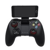Shinecon SC-B04 Bluetooth 2.4G Wireless Gamepad Game Controller con clip de teléfono móvil de vibración
