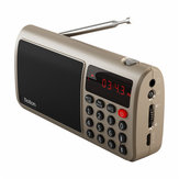 Rolton T50 Portable World Band Speaker FM/MW/SW Stereo Radio With MP3 Player Support SD/TF Card
