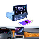 7158G 7 Zoll GPS High Digital Bluetooth Touchscreen Auto MP5 Player FM USB mit Real Kamera
