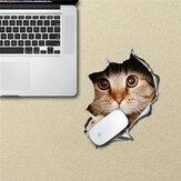 Gatto Mouse pad adesivo decalcomanie stuoia Pag autoadesivi impermeabili scrivania regalo casa decorazione cat rimovibile