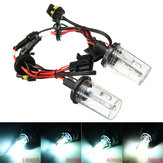 Pair H13 35W 12V 5000K-10000K White Hi-Lo Dual Beam Car Xenon Headlight HID Light Bulb Lamp