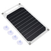 5V 10W Portable Solar Panel Slim & Light USB Charger Charging Power Bank Pad