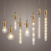 Edison E27 LED Bombillas de Globo Regurables COB Filamento Retro Clásico iluminación de la Navidad AC220V