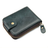 RFID Antimagnetic Genuine Leather Coin Bag Card Holder