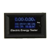 DC120V 20A LCD Misuratori di corrente Voltmetro digitale Amperometro Voltaggio Amperimetro Wattmetro Volt Tester di capacità Indicatore