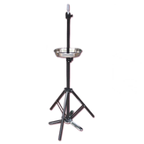 Black Metal Adjustable Tripod Holder for Mannequin Head