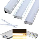 30CM Aluminum Channel Holder For LED Rigid Strip Light Bar Under Cabinet Lamp