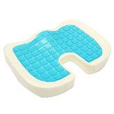 Sièges orthopédiques de soutien de dossier de siège arrière de mousse de mémoire de refroidissement soulageant la douleur formant l'oreiller