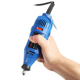 Raitool™ 110/220V Electric Grinder Rotary Tool Precision Electrical Hand Drill 5 Variable Speed
