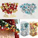 32PCS Christmas Tree Decoration Balls Drums Bells Baubles Ornaments Kids Children Party Supplies