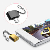 Universal Metal Micro USB Male to USB 2.0 Female Adapter Converter for Xiaomi Huawei Mobile Phone