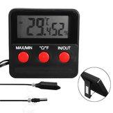 Thermomètre numérique Hygromètre Sonde d'humidité Sonde pour incubateur d'oeufs Pet