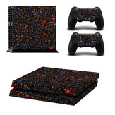 Star Game Decal Cover Skin Sticker pour Play Station 4 PS4 Console + 2 Controllers