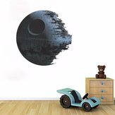 45cm Removable Death Star Wars Wall Stickers Art Vinyl Decal Kids Bedroom Home Wall Decoration