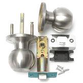 Ballon rond salle de bains en acier inoxydable bouton de verrouillage de porte fixé de passage de la poignée avec clé