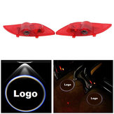 LED Car Door Welcome Logo Ghost Shadow Light Laser Projector Lamp for Geely Emgrand EC7