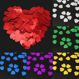 500Pcs Heart Shape Plastic Resin Confetti Birthday Wedding Decoration Party Supplies