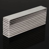 10pcs N48 Super Strong Block Magnets 50X10X2MM Rare Earth Neodymium Magnets