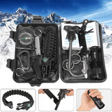 Original IPRee® 13 In 1 Outdoor EDC SOS Survival Case Multifunctional Tools Kit Box Camping Emergency