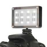Ulanzi Luz de Vídeo Portátil CardLite 5500K 820 Lumen LED com Sapata Fria
