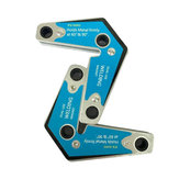 2 stuks lasermagneet voor tweeërlei gebruik, lasapparaat voor hoeklas 60/90 graden