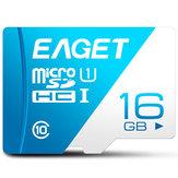 EAGET T1 Micro SD بطاقة Memory بطاقة 16GB/32GB/64GB / 128GB Class 10 TF بطاقة