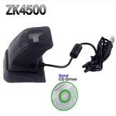 Original ZK4500 Lector de huellas dactilares USB Sensor para computadora PC Hogar / Oficina SDK gratuito Lector de captura Escáner de huellas dactilares