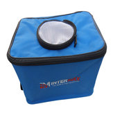 Portable Fishing Bucket Water Fish Box Bag Backpack Folding Tackle Storage Fishing Gear