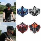 BIKIGHT Activated Carbon Anti Dust Pollution Bike Cycling Half Face Mask Filter