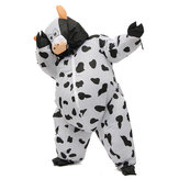 SUMO Fancy Dress Cosplay Performance Fan Inflatable Cows Toy Costume Suit Christmas Party 170cm