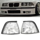 Luces de Esquina Laterales para BMW E36 3-Series 2DR Lente Clara para Coupe / Convertible