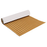 90x230cm Self-Adhesive EVA 6mm Faux Foam Teak Sheet Boat Decking