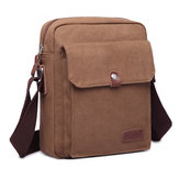Men Canvas Shoulder Messenger 3 Colors Small Casual Crossbody Bag
