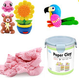 Nororo Paper Clay 800ML SOFT Ultralight DIY Juguete para niños sin arena, no cepillado, sin arena Space Play