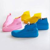 القابل للتصرف السليكا هلام المطر الحذاء غطاء ضد للماء الجرموق دائم الغبار أحذية التخزين القضية